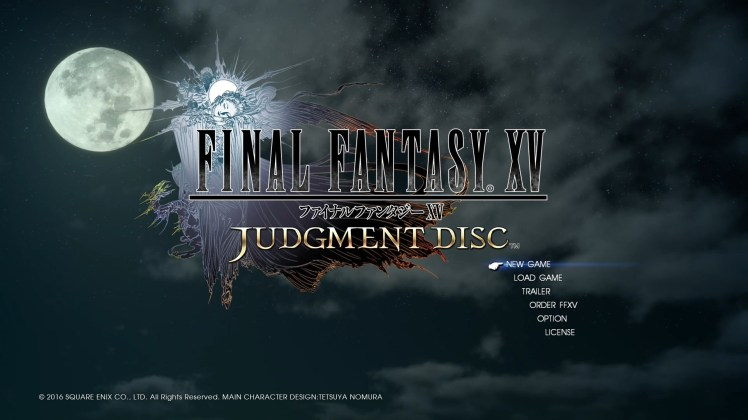 how to play the final fantasy 15 judgment disk